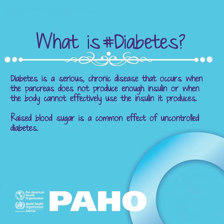 PAHO/WHO - Diabetes