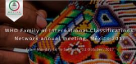 Reunión Anual de la WHO-FIC Network. México. 2017