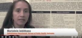 Marjolein Jubithana. Suriname