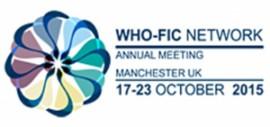 Reunión anual de la WHO-FIC Network - Manchester 2015