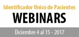 Identificador Único de Pacientes - Webinar #1 - Experiencia Argentina