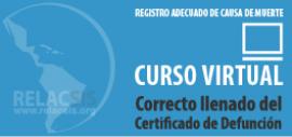 Guía de acceso al Curso sobre Correcto llenado del Certificado de Defunción