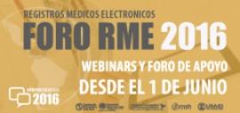 Foro Registro Médico Electrónico #RME 2016