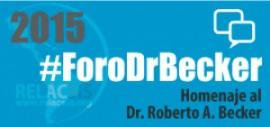 Foro FCI-OMS Dr. Roberto Becker