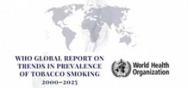 Informe mundial de la OMS sobre las tendencias en la prevalencia del tabaquismo