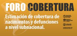 Foro Cobertura nacimientos y defunciones - Webinar #2 - La experiencia de Brasil.