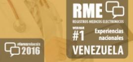 Foro RME 2016 - Webinar #1 Experiencia Venezuela